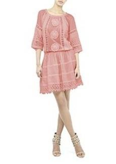 Elisa Crochet Dress