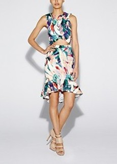 Floral Tropica Pari Dress