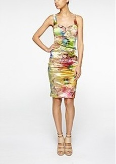 Florista Techno Metal Dress