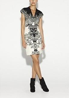 Flourish Neoprene Dress
