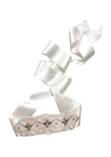 Flower Bridal Sash