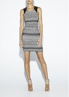 Graphic Jacquard Dress