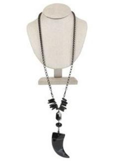 Horned Runway Necklace