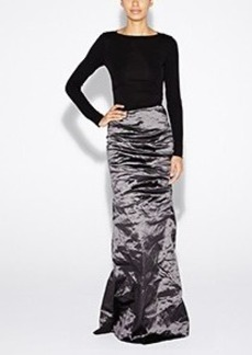 Ivy Techno Metal Combo Gown