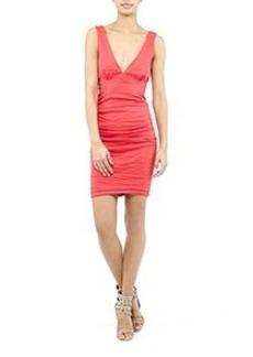 Krista Cotton Metal Dress