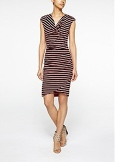 Luna Striped Jersey Dress