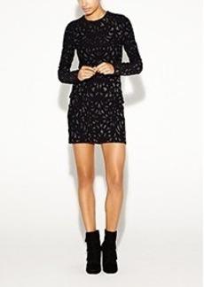 Mercedes Swirl Knit Dress