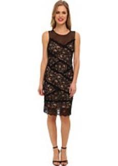Nicole Miller Amy Stretch Lace Dress