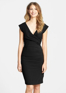 Nicole Miller Crepe Sheath Dress