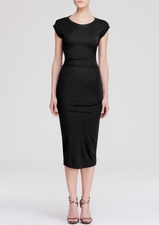 Nicole Miller Dress - Matte Jersey Cutout Back Sheath