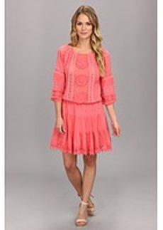 Nicole Miller Elisa Crotchet Cotton Lace Dress