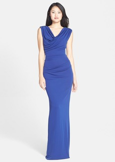 Nicole Miller Embellished Jersey Gown