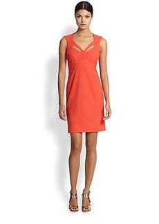 Nicole Miller Jersey Cutout Dress