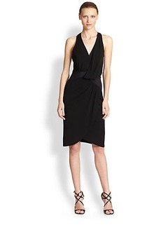 Nicole Miller Jersey Halter  Dress