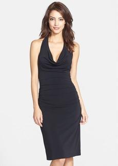 Nicole Miller Jersey Halter Dress