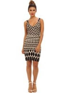 Nicole Miller Kenna Temple Ikat Dress