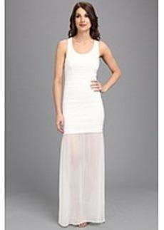 Nicole Miller Lindsay Cotton Metal Dress