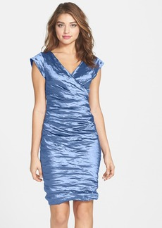 Nicole Miller Metallic Sheath Dress