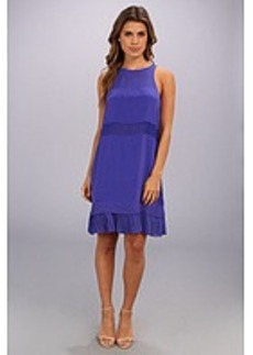 Nicole Miller Mika Illusion Pleat Dress