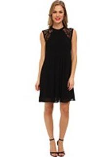 Nicole Miller Morgan Scrolling Lace Dress