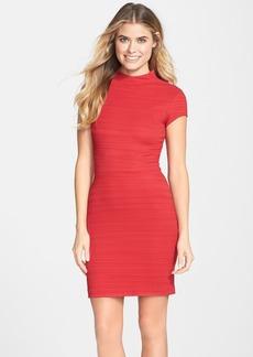 Nicole Miller Ottoman Knit Body-Con Dress