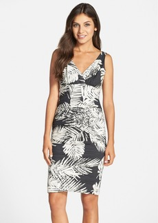 Nicole Miller Palm Batik Print Dress