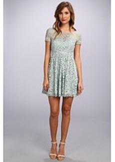 Nicole Miller Queenie Swirling Vines Dress