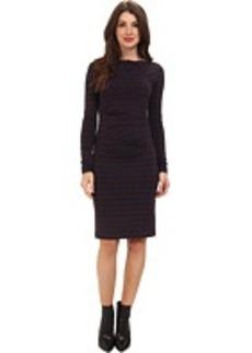Nicole Miller Quinn Striped Jersey Dress