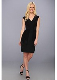 Nicole Miller Rae Tiered V-Neck Dress