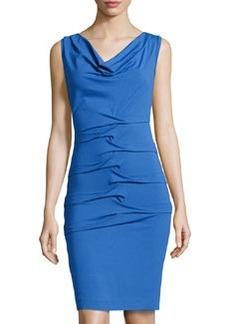 Nicole Miller Sleeveless Jersey Dress, Classic Blue