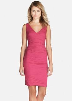 Nicole Miller Sleeveless V-Neck Dress