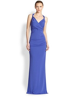 Nicole Miller Stretch Jersey Gown