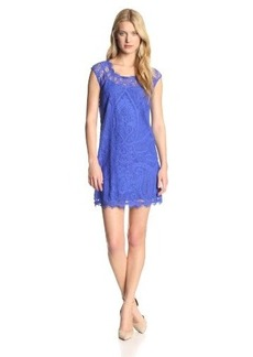 Nicole Miller Women's Abby Placement Lace Dress