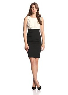 Nicole Miller Women's Color Block Dress