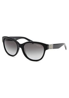 Nicole Miller Women's Reade Wayfarer Black Sunglasses