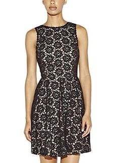 Nicole Miller Women's Sleeveless Daisy Lace Dress