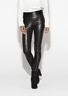 Nina Leather and Satin Pant