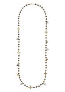 Pax Multicross Bead Necklace