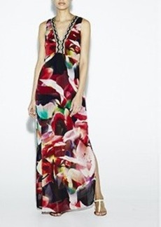 Petal Power Maxi Dress