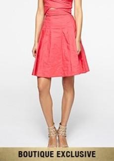 Reese Cotton Metal Skirt