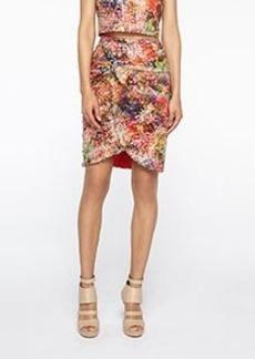 Sequin Twist Skirt