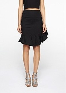 Slant Ruffle Skirt