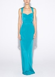 Sweetheart Crepe Gown