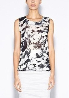 Syl Paint Strokes Top