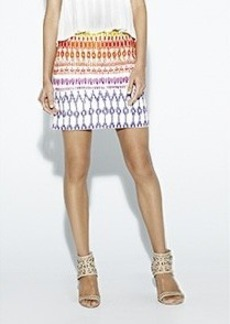 Temple Ikat Beaded Skirt
