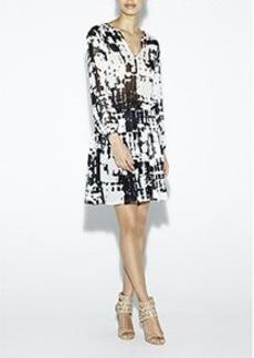 Wylie Inkblot Dress