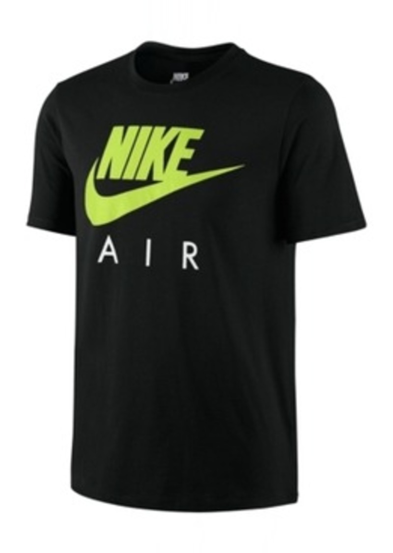 nike nike air logo graphic t shirt t shirts shop it to me. Black Bedroom Furniture Sets. Home Design Ideas