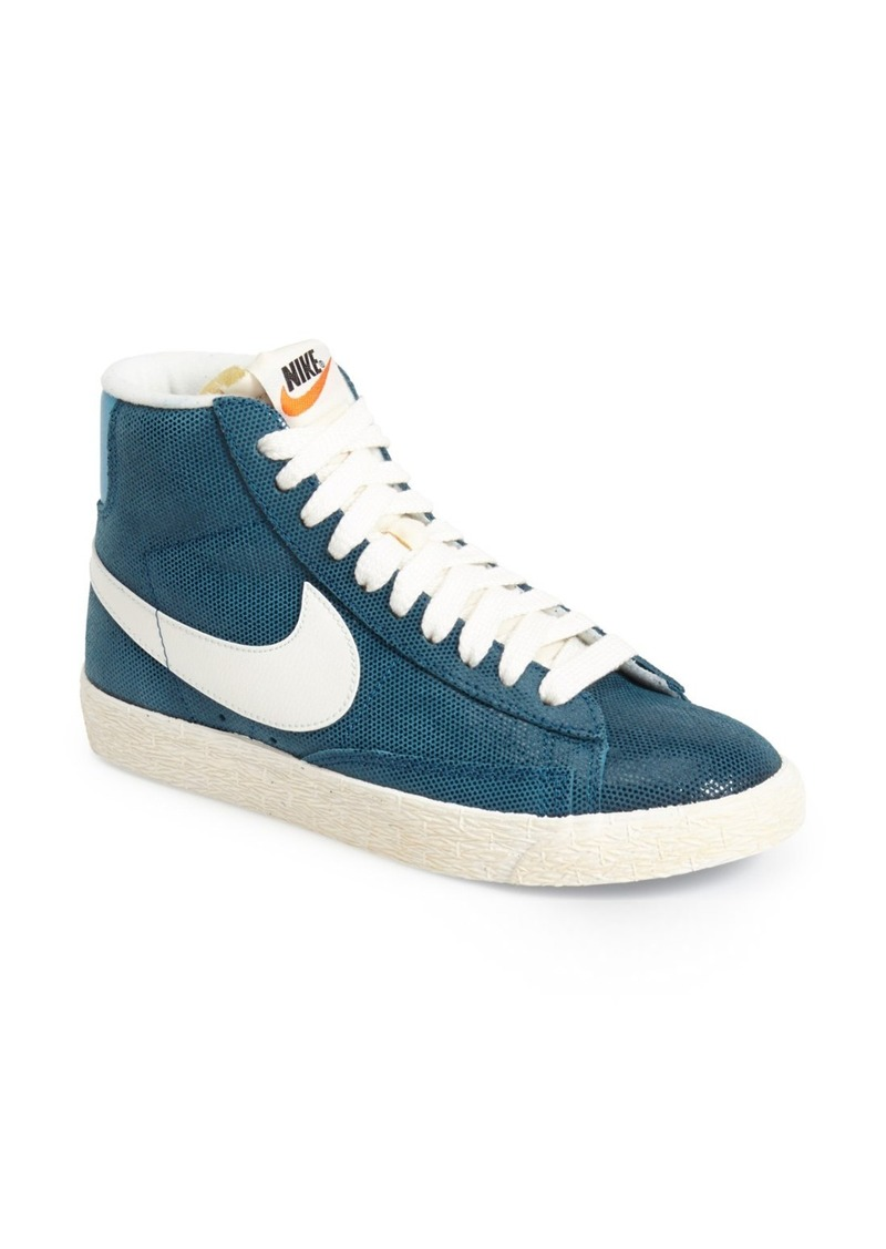nike nike 39 blazer 39 vintage high top basketball sneaker. Black Bedroom Furniture Sets. Home Design Ideas