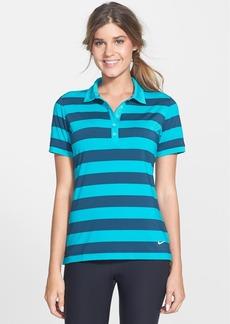 Nike 'Bold Stripe' Dri-FIT Golf Polo