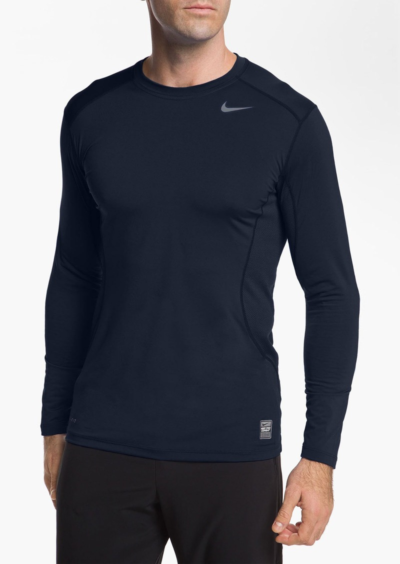 Nike nike 39 core 2 0 39 fitted long sleeve t shirt regular for Nike t shirt price